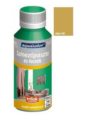 Aquakolor, szín.paszta 450 okker 125ml