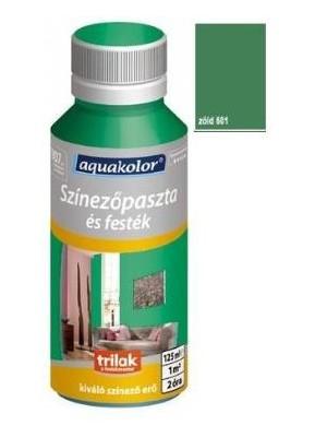 Aquakolor, szín.paszta 601 zöld 125ml