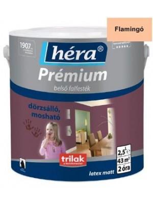 Héra Prémium,Belső falfesték Flamingó 2,5l