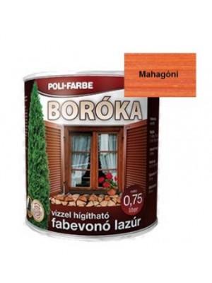 Boróka lazúr mahagóni  0,75 L