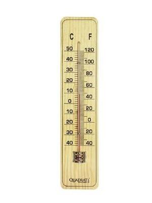 Quadrat 2000, Hőmérő, fa, nagy, 8008520000953