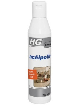 HG, Acélpolír 250ml  1680
