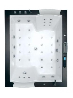 Wellis, Nera Maxi E-Multimedia Hydro kádszett 185*150*72 cm, I.o.
