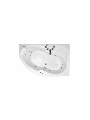 Wellis, Sepia 160 E-Plus Hydro kádszett 160*105*63 cm, I.o.