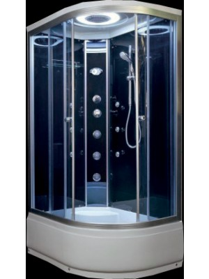 Hidromasszázs zuhanykabin, Aqualife, Brill D1202 jobbos és balos is RENDELHETŐ 120*85 cm