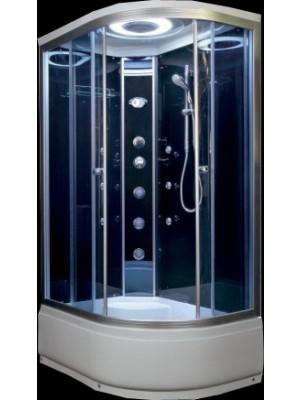 Hidromasszázs zuhanykabin, Aqualife, Brill D1202 jobbos 120*85 cm