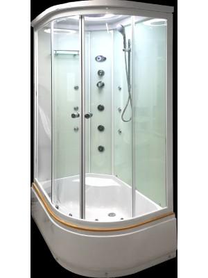 Hidromasszázs zuhanykabin, Aqualife, Brill D1202 balos 120*85 cm