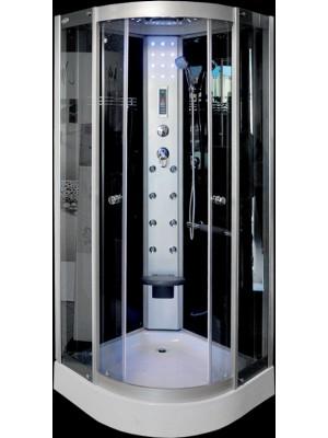 Aqualife, Hidromasszázs zuhanykabin, Brill 8081 100x100x220 cm