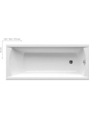 Ravak, CLASSIC egyeneskád, 160x70 cm
