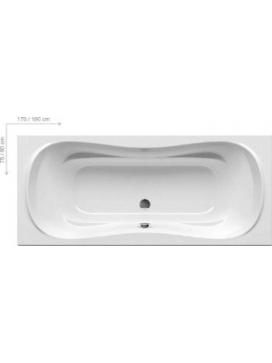 Ravak, Campanula II egyeneskád, 180x80 cm