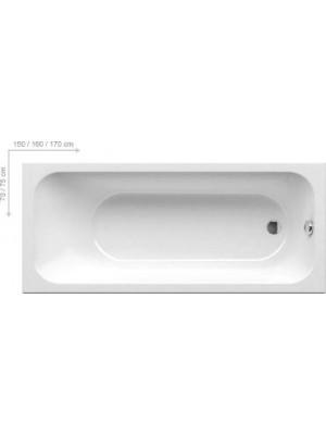 Ravak, Chrome egyeneskád, 150x70 cm