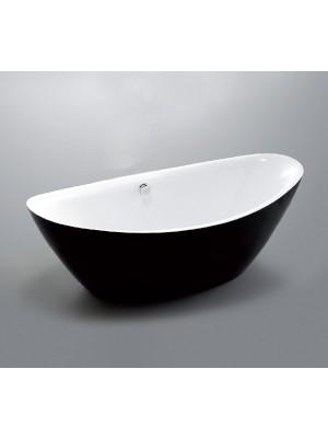 Wellis,MyLine Arezzo Black akril térkád, 180*87*65 cm