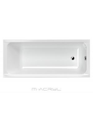 M-Acryl, Eco egyenes kád 160*70 cm I.o.