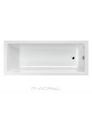 M-Acryl, Mia egyenes kád 160*70 cm I.o.