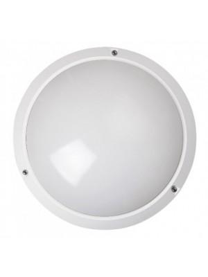 Rábalux, Lentil fali/mennyezeti lámpa E27 IP 54 fehér, 5810