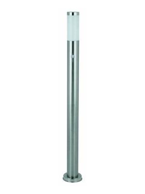 Rábalux, Inox torch, kültéri álló lámpa, mozgásérzékelővel, H110cm, 8268