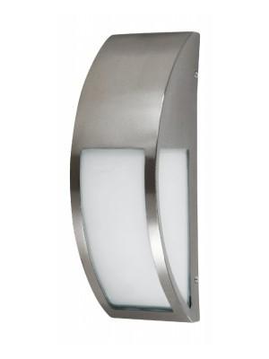 Rábalux, Genova kültéri lámpatest E27 40W IP44 rozsdamentes acél, 8269