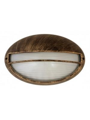 Rábalux, Hektor, kültéri mennyezeti lámpa, ovális, 32x20,5cm, 8496