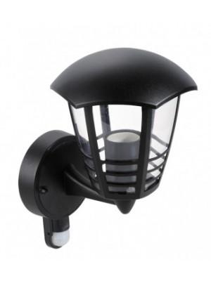 Rábalux, Marseille, falikar lámpa mozgásérzékelővel, felfelé, hatszögletű lámpafej-alak 3 díszítő csíkkal, 8578