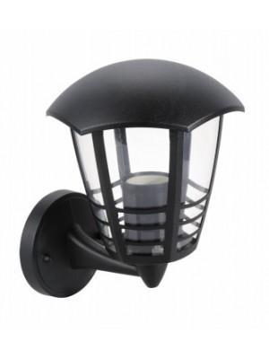 Rábalux, Marseille, kültéri falikar lámpa, felfelé, hatszögletű lámpafej-alak 3 díszítő csíkkal, 8618
