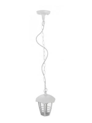 Rábalux, Marseille, kültéri függeszték, hatszögletű lámpafej-alak 3 díszítő csíkkal, 8643