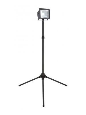 Globo, Projecteur, Reflektor álvánnyal  IP65, kábel 5m, LxBxH:840x840x1780, inkl. 1xLED 20W 36V, 1300lm, 6500K, 34115AS