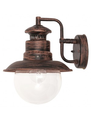 Rábalux, Odessa kültéri fali lámpa, barna 8163