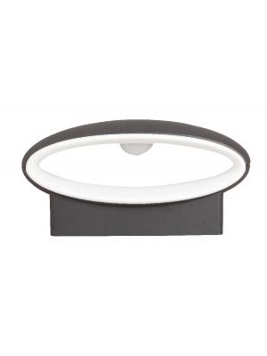 Rábalux, Bristol kültéri fali lámpa LED antracit, 8705