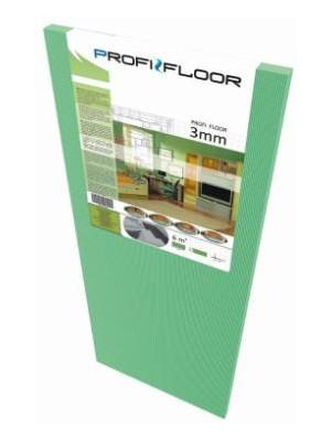 Zajcsökkentő alátét, laminált padlóhoz, XPS  3mm tábla Profi Floor (1,2m * 0,5m)