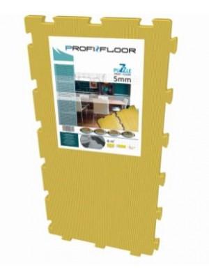 Zajcsökkentő alátét, laminált padlóhoz, XPS, Puzzle tábla Profi Floor (1m * 0,5m, 5mm vastag)