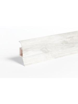 Szegélyléc, W648 Fehér Tölgy  (2,5m/szál)