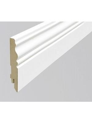 MDF szegélyléc, PURE Faun, festhető fehér, 16*100*2400 mm