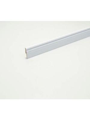 MDF szegélyléc, ARBITON, MP0601, festhető fehér, 60*15*2400 mm