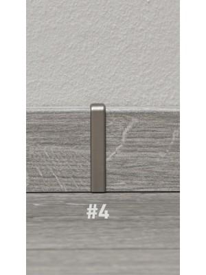 Összekötő elem, Ktex 1, acél színű, 58 mm
