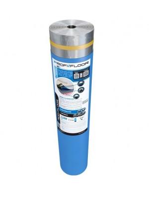 Zajcsökkentő alátét laminált padlóhoz, Profi Floor HD, padlófűtéshez is, 2 mm, 15 m2/tekercs