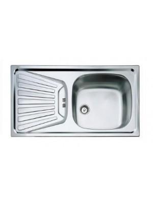Teka, Deva 45 mosogató, 1csepegtető 1med. 78*43,5 cm