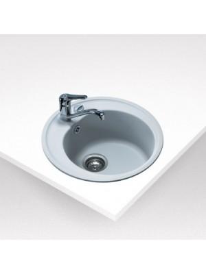 Teka, Centroval 45 TG Fehér kerek mosogató, 51 cm