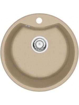 Deante, Solis, gránit mosogató, 1 medencés, kör alakú, homok színben 48*18 cm ZRS 7803 I.o.