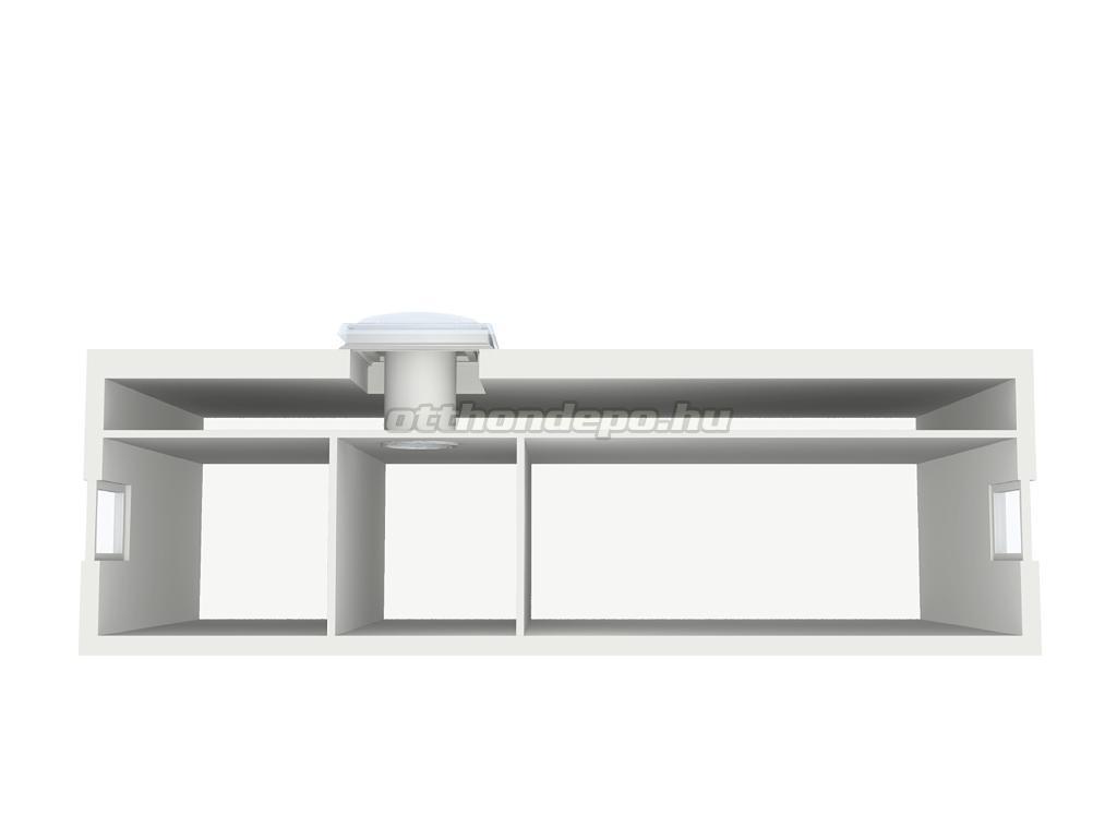 Velux, Fénycsatorna lapos tetőhöz TCF014 - Otthon Depo Webáruház