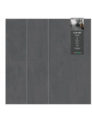 Padlólap, Hunkerim GCA06 Niro Granite Clay Art, Graphite 60x60cm,  I.o.