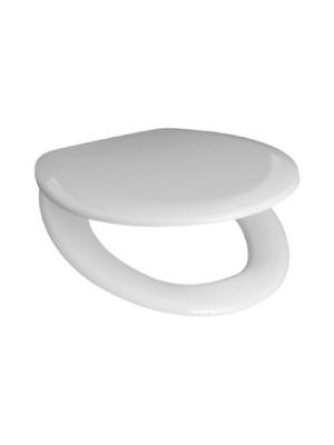 Jika, ZETA WC ülőke tetővel, műanyag zsanérral, Thermoplast H8932710000001