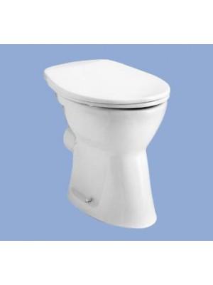 Alföldi, Bázis WC csésze 4030, lapos öblítés, hátsó kifolyás