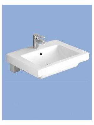 Alföldi, Liner beépíthető mosdó, 5129 L1, 55*44 cm