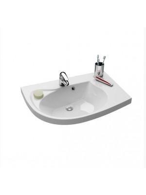 Ravak, Rosa beépíthető mosdó, 78x55 cm