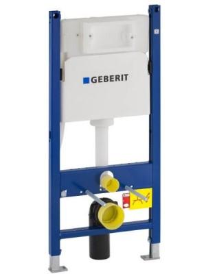 Geberit, Duofix Basic falsík alatti szerelőelem beépíthető WC tartállyal Delta nyomólaphoz 111.153.00.1
