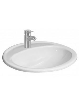 Jika, IBON beépíthető mosdó, 56 cm, csaplyukkal H8130110001041 I.o.