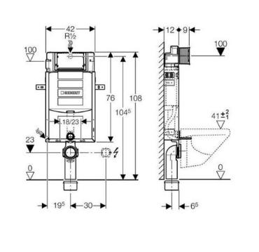 geberit kombifix basic fali wc tart ly otthon depo web ruh z. Black Bedroom Furniture Sets. Home Design Ideas