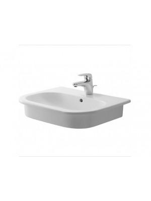 Duravit, D-Code beépíthető mosdó, 54*43 cm, 0337540000
