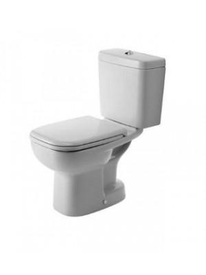 Duravit, D-Code álló WC, mélyöbítés, alsó kifolyás, 21110100002