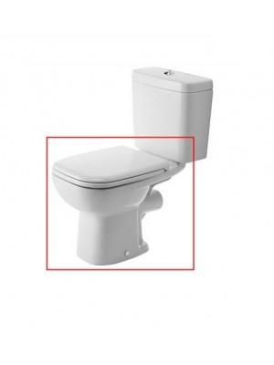 Duravit, D-Code álló WC, mélyöbítés, hátsó kifolyás, 21110900002